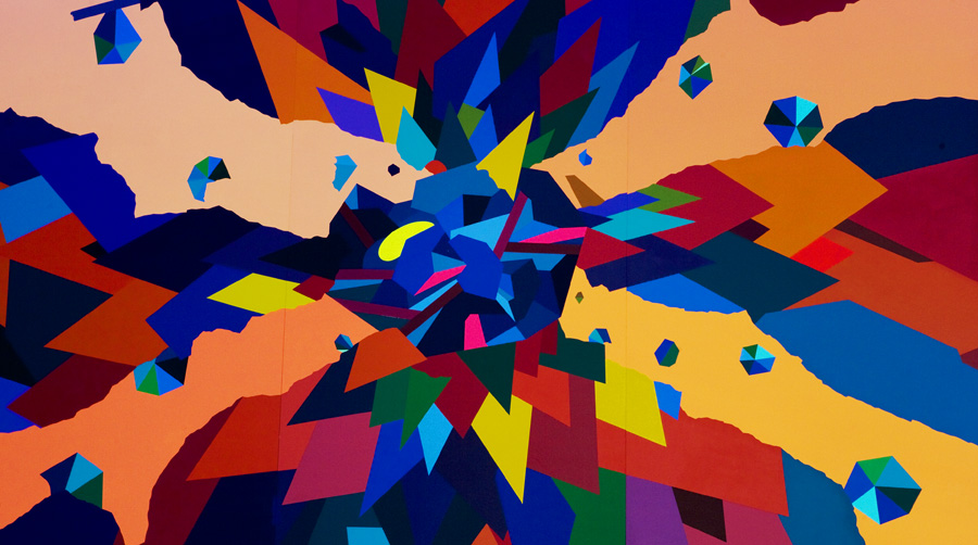 FRANZ ACKERMANN, STEVE BENISTY, FAENA, ART, ARTIST, WHITE CUBE GALLERY, SAATCHI GALLERY