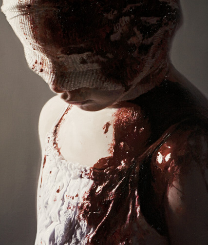 GOTTFRIED HELNWEIN, FRIEDMAN BENDA GALLERY, STEVE BENISTY, ART, ARTIST, AUSTRIA, I WAS A CHILD, ART EXHIBITION